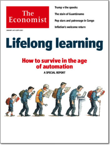ECONOMIST - How to survive in the age of automation